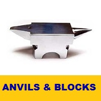 Anvils and Steel Bench Blocks