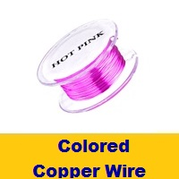 Colored Copper Wire