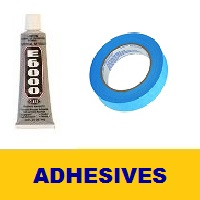 Glue, Tape, and Adhesives for Jewelry