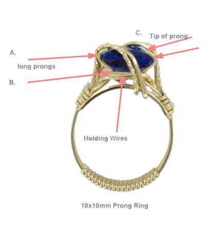 Adjusting Tips for Prong Rings