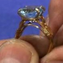 Faceted Round Gemstone Prong Ring Videos by Master Wire Sculptor Preston Reuther