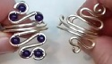 SQUIGGLY JEWELRY WIRE RING