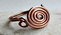 ADJUSTABLE COPPER WIRE RING