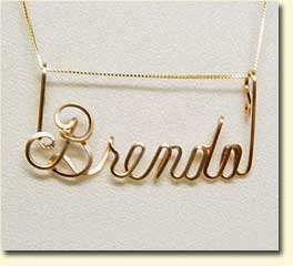 Wire Name Writing Vol.1 - Letters A thru M Wiring Jewelry on
