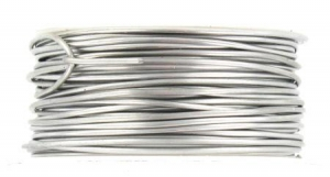 26 Ga Round Dead Soft Stainless Steel Wire - 90 Ft for making wire jewelry